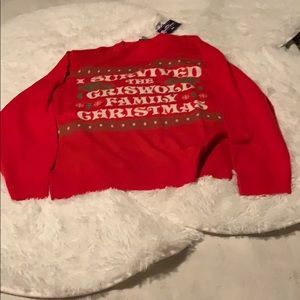 National Lampoon Christmas Sweater NWT